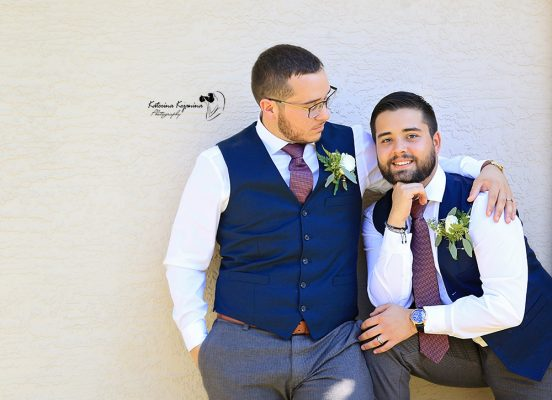 LGBT Gay Lesbian Wedding Photographer Palm Coast Florida