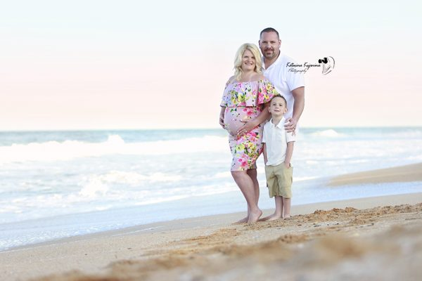 Maternity photography session in Flagler Beach Palm Coast Florida