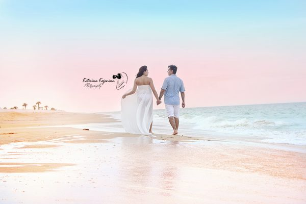 Maternity photography session in Washington Oaks State Park Palm Coast Florida
