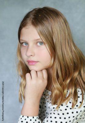 Kids studio portraits and kids photography sessions