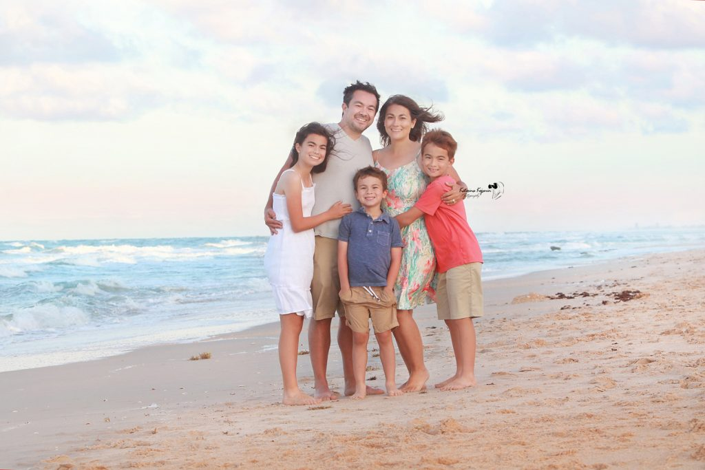 Family photography and family beach portraits
